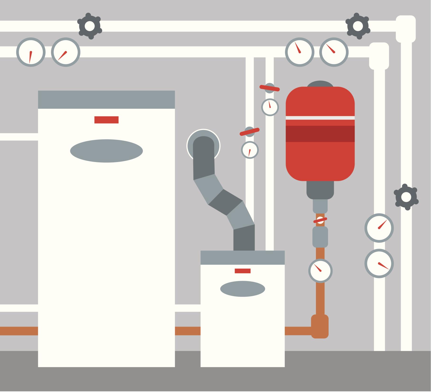 חימום מים בגז